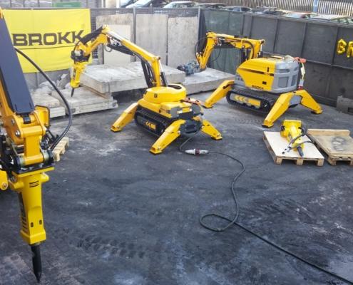 Robots de demolición Brokk