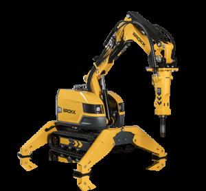 robot de demolición