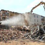 SprayStream en la demolicion