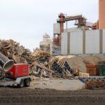 Sistemas de supresión de polvo en el sector del reciclaje.