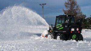 Elise 900 en la nieve